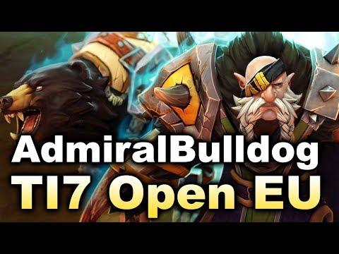 Bulldog Stack vs Serious Teams! Part 2 - EU Opens TI7 DOTA 2