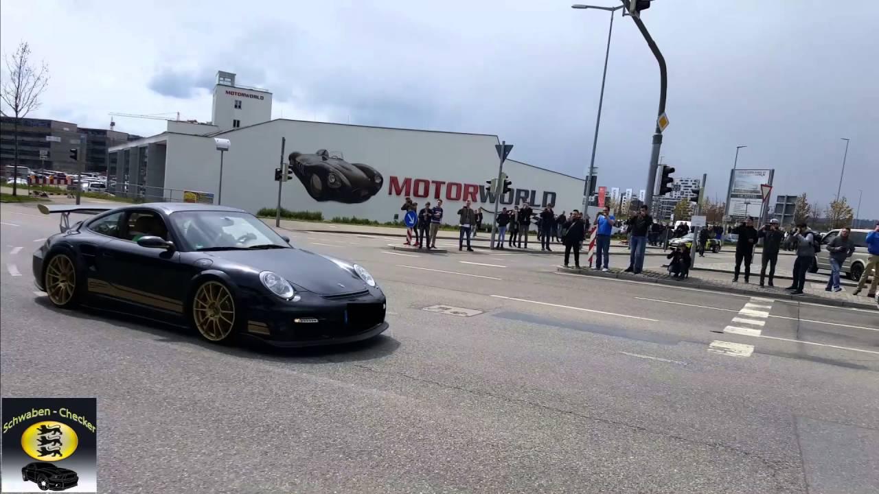 Insane porsche 9ff g tronic 1200ps hp motorworld for Porsche zentrum boblingen