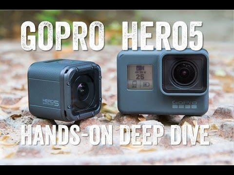 GoPro HERO5 IN-DEPTH! Hands-on!