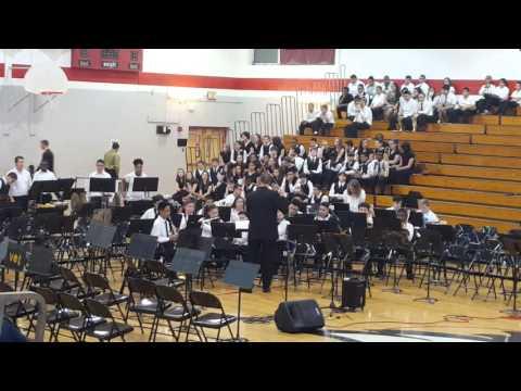 Veteran's Memorial Intermediate School Band Vineland All City Instrumental Pops Concert