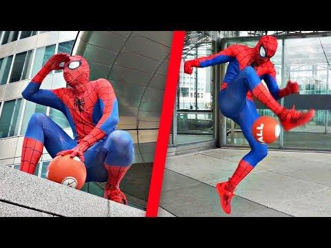 AMAZING SPIDERMAN STREET SOCCER SKILLS (Wass Freestyle)