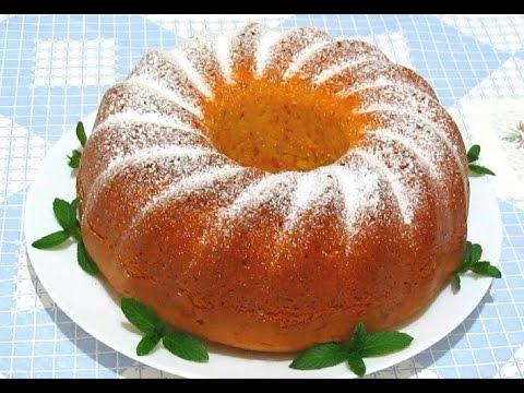 Апельсиновый #КЕКС(ПИРОГ) Нежный Ароматный Очень Вкусный #Рецепт