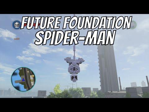 LEGO Marvel Superheroes - Future Foundation Spider Man ...