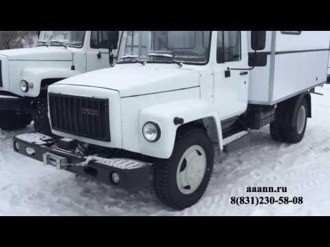ГАЗ 3309 Фургон Мастерская