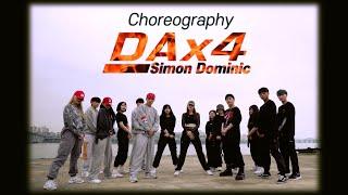 사이먼 도미닉 (Simon Dominic) - 'DAx4' / Choreo by Jongho Park, Songyi Kim, Jack
