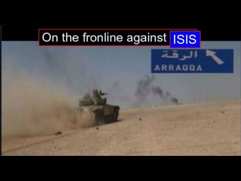 On the front lines against ISIS , tabqa offensive