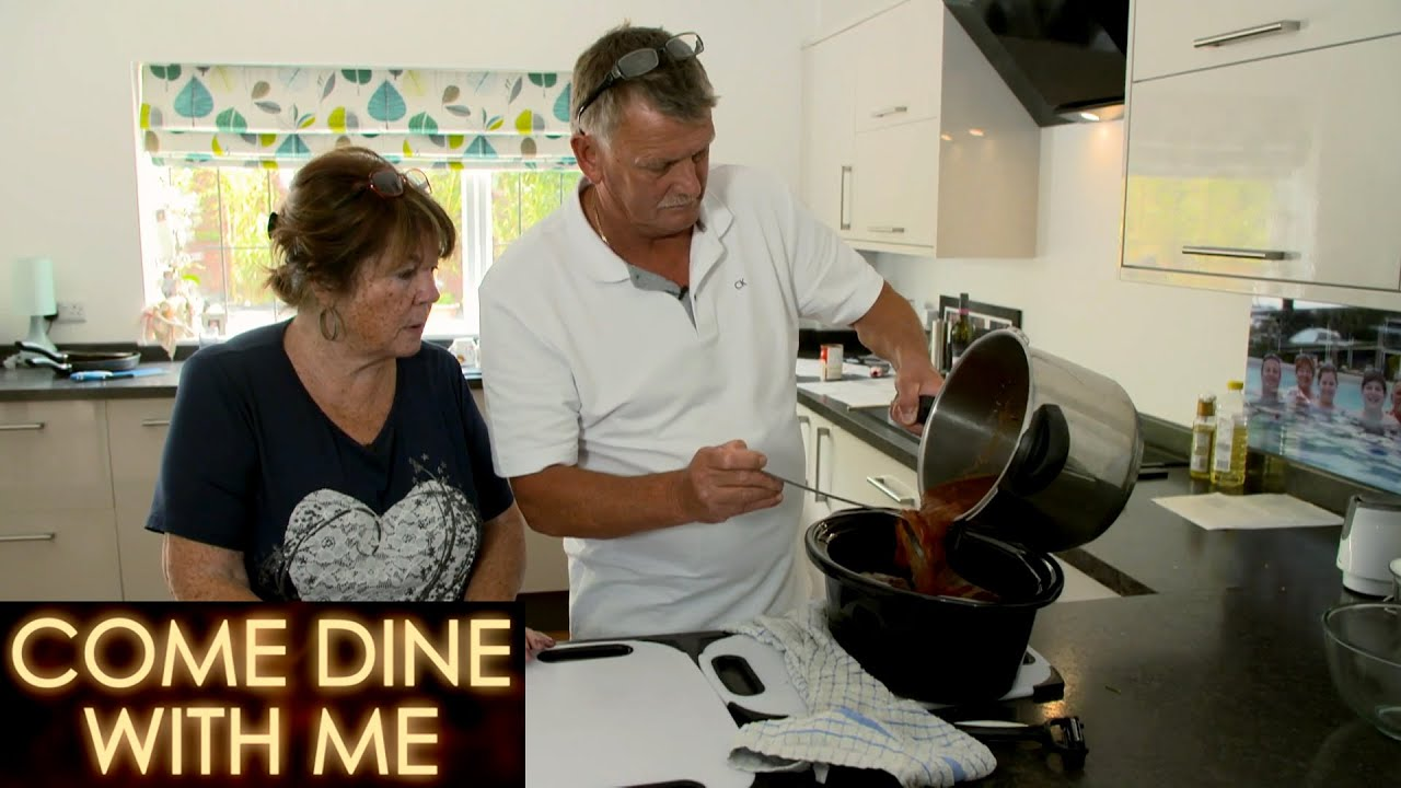 Chris & Barb's Black Tie Dinner Menu   Come Dine With Me