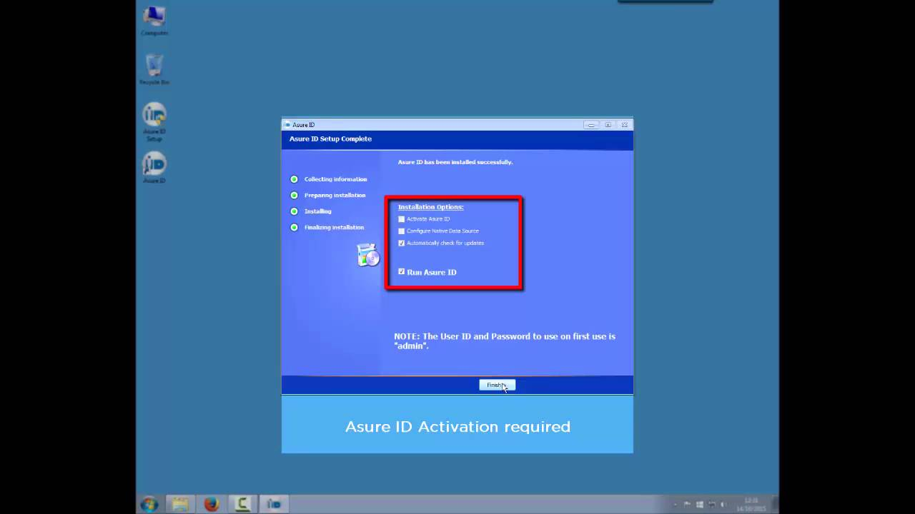 Asure ID 7 How To Install Software And Activate License