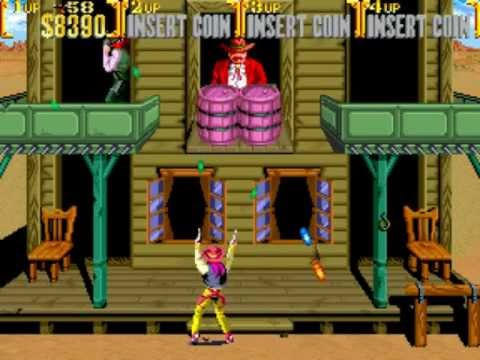 Vintage Arcade Games >> Sunset Riders, Arcade - Overlooked Oldies - YouTube