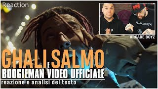 GHALI feat. Salmo - Boogieman ( Analisi del video ) | REACTION