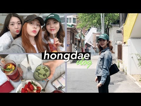Hongdae on a Saturday: Flea Markets, Flagship Stores, & Friends!