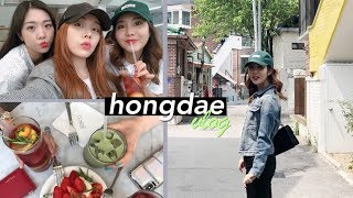 Hongdae on a Saturday: Flea Markets, Flagship Stores, & Friends!