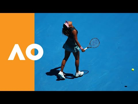 Emotions take control of Naomi Osaka | Australian Open 2019