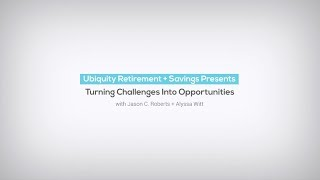 [WEBINAR] - Turning Challenges into Opportunities