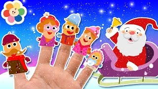 Christmas Finger Family Song | Jingle Bells Song | Plus More Kids Songs | Baby First