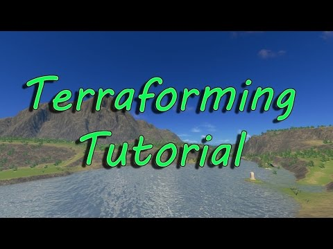 Cities Skylines: How to Terraform! (2016)