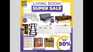 City Home Furniture Cikarang   Living Room Super Sale 2020   Discount Up To 50%