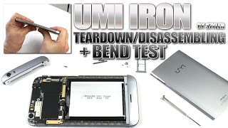 "UMI IRON (Teardown & Bend Test + Battery Check!) MTK6753 SoC, 5.5"" Full HD,"