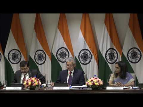 Media Briefing on upcoming visits of Prime Ministers of Bangladesh and Australia to India