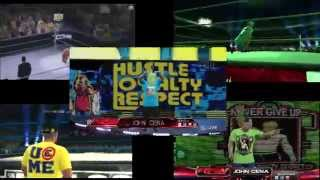 John Cena Entrance Comparison (WWE 2K16, 2K15, 2K14, 13, 12)