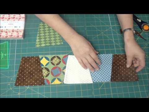 The Easiest Tumbler Quilt You'll Ever Make!