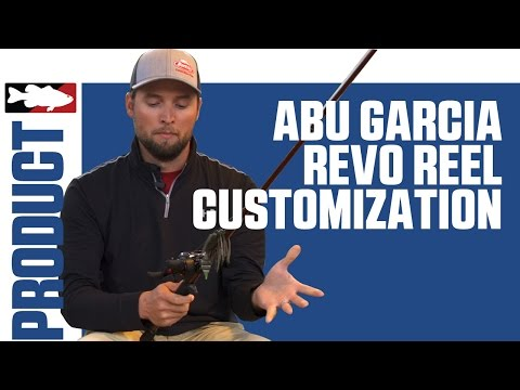 Abu Garcia REVO Customization with Justin Lucas on Lake Guntersville