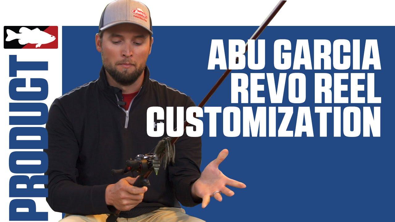 Abu Garcia REVO Customization with Justin Lucas on Lake Guntersville