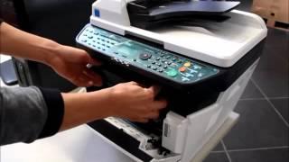 Kyocera FS-1135 FS-1035 Sostituzione Cartuccia Toner
