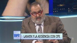 "Jorge Lanata a Cristina Kirchner: ""Usted es sólo una pobre vieja enferma"""