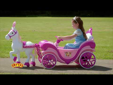 McLaren P1 And Disney Princess Carriage Electric Ride Ons At Smyths Toys
