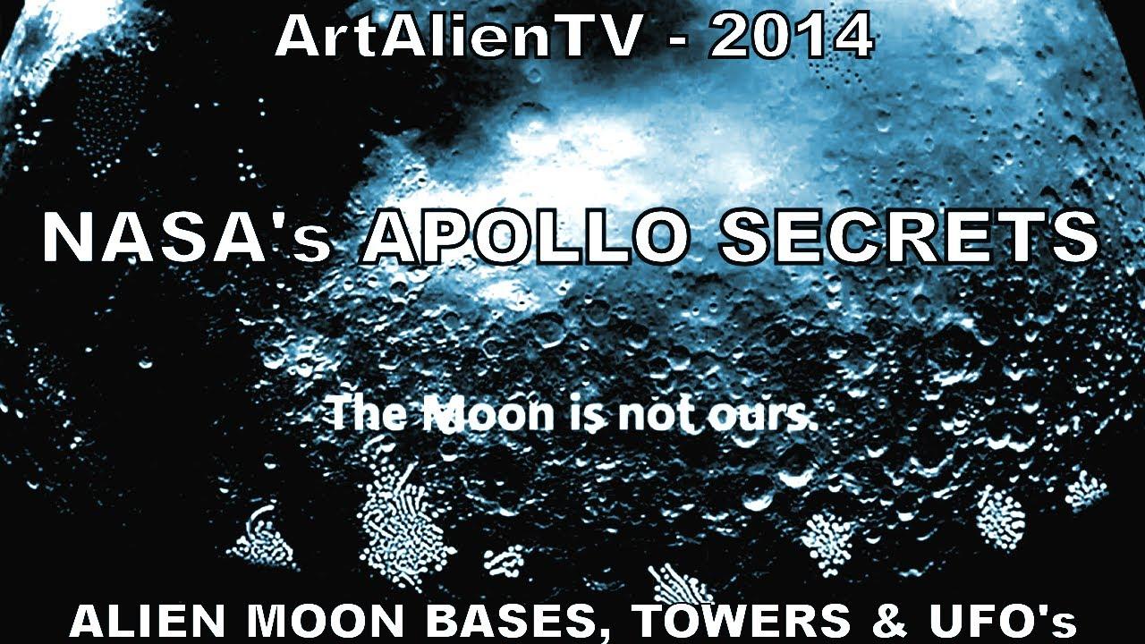 NASA's APOLLO SECRETS - Alien Moon Bases, Towers & UFO'S ...