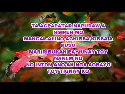 NAGUWAPO KAN MANONG ( ILOCANO SONG ) WITH LYRICS