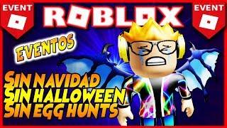 *ROBLOX* CancelS ALL SEASONAL EVENTS!🌟 [Halloween] [Weihnachten] [Egghunt]...