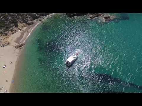 Beautiful   Greece  (Skiathos - Tsougria ) Drone fly