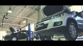 Открытие автосалона Volkswagen в Рязани