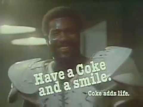 Mean Joe Green  - Coca-Cola  Ad