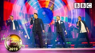 Gambar cover Westlife perform a greatest hits medley - Blackpool   BBC Strictly 2019