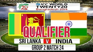 (Cricket Game) ICC T20 World Cup 2014 Super 8 (Qualifier match) - Sri Lanka v India Group 2 Match 24