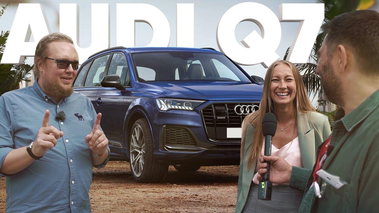 Audi Q7 - Большой тест-драйв / Юля из банка