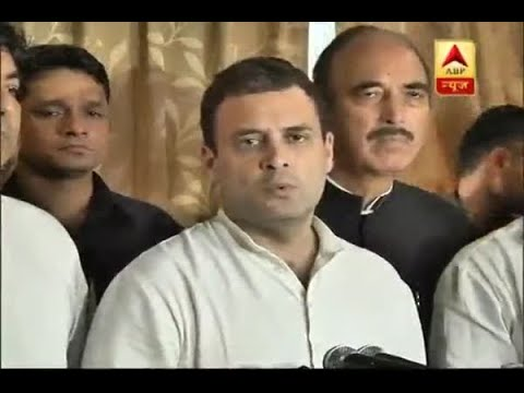 Gorakhpur Tragedy: UP CM should not cover-up instead take action, says Rahul Gandhi