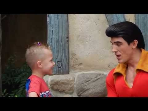 GASTON explains how important breakfast is at Disney World Magic Kingdom