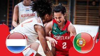 Netherlands v Portugal - CL 5-6 - Full Game - FIBA U18 Women's European Championship Division B 2018