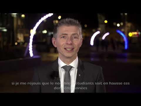 Vœux 2020 De Gil Avérous, Maire De Châteauroux, Président De Châteauroux Métropole.