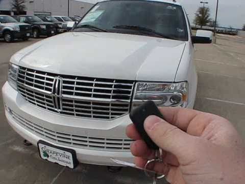 2011 Lincoln Navigator Limited Edition Start Up Exterior Interior