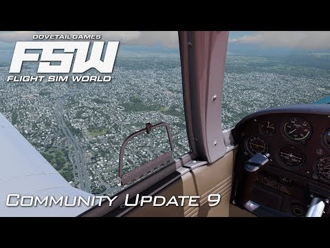 Flight Sim World - Community Update 9 Review! | Flying over Seattle | Early Access
