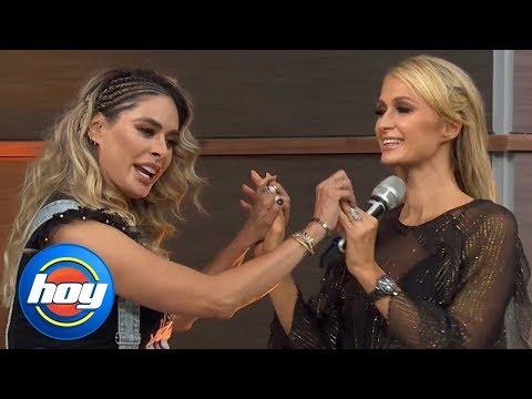 """""""My English is so perfect"""": mira lo que hizo Galilea Montijo para que Paris Hilton la entendiera"""