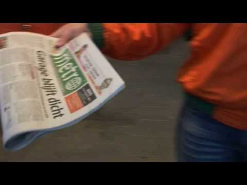 Metro Holland 1 Million copies newspaper circulation