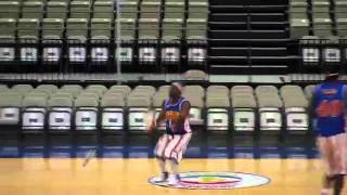 Harlem Globetrotters teach you 4-point shots