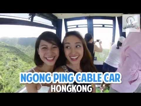 Ngong Ping 360 Cable Car - The most scenic cable car ride in Hongkong!