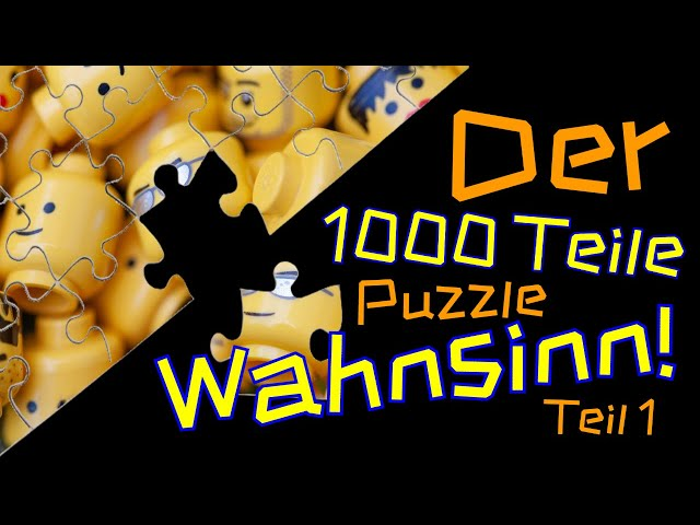 Der 1000 Teile Puzzle Whansinn! | Teil 1 | Aller Anfang ist schwer